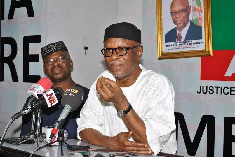Odigie-Oyegun not part of meeting between