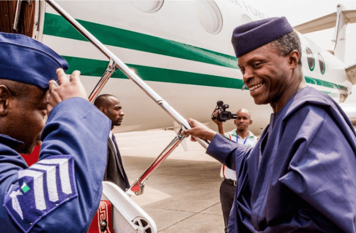 Osinbajo begins two-day working visit to I