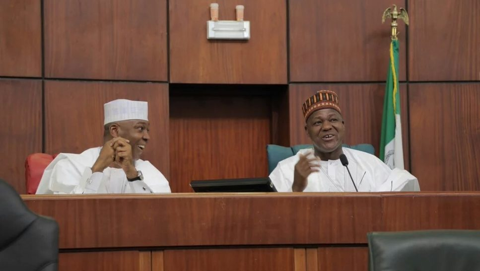 Saraki, Dogara insist 'we are just first among equals' after brush with Buhari's guards