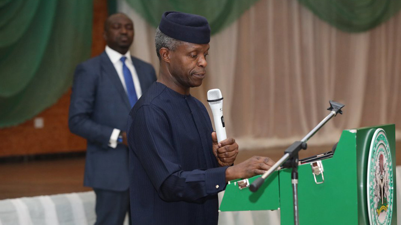 Corruption did not start with Buhari and  is yet to stop - Osinbajo