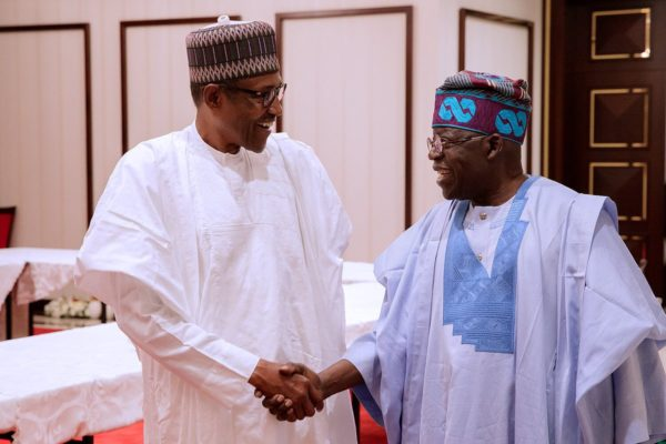 Tinubu visits Buhari, says i am not known to shy away from talking my mind