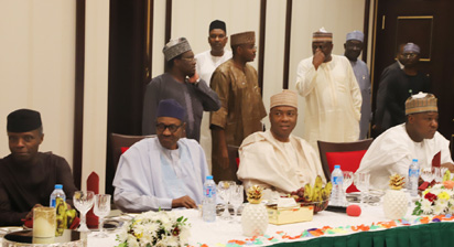 Dinner with Buhari: We went to show gratitude that he has come back healthy - Saraki