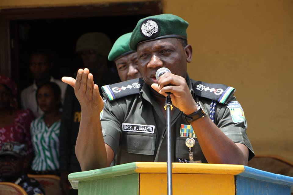 IGP commends National Assembly for proposing death penalty for kidnappers