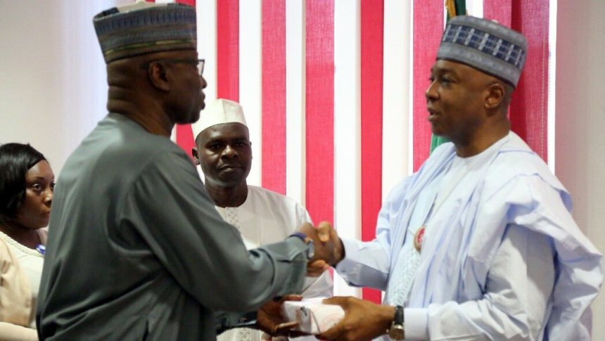 The Presidency is not competing with National Assembly, SGF tells Saraki