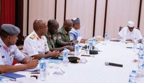 Buhari inaugurates Armed Forces Council, ratifies National Defence Policy