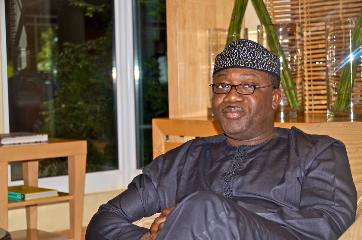 Fayemi did not build website with N700m, says Ministry