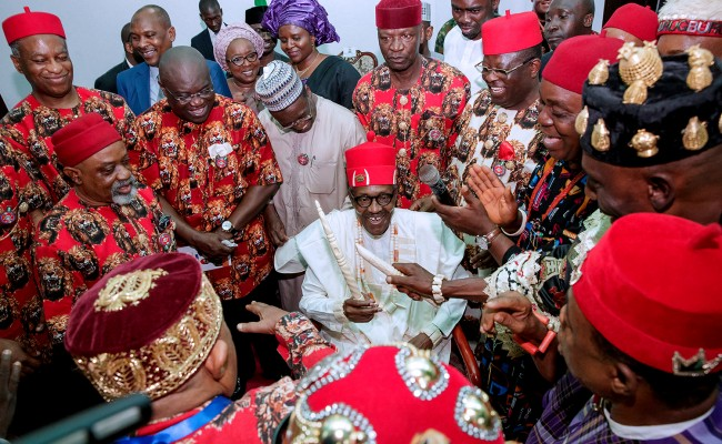 Buhari in Ebonyi, says visit is affirmation of his commitment to one Nigeria