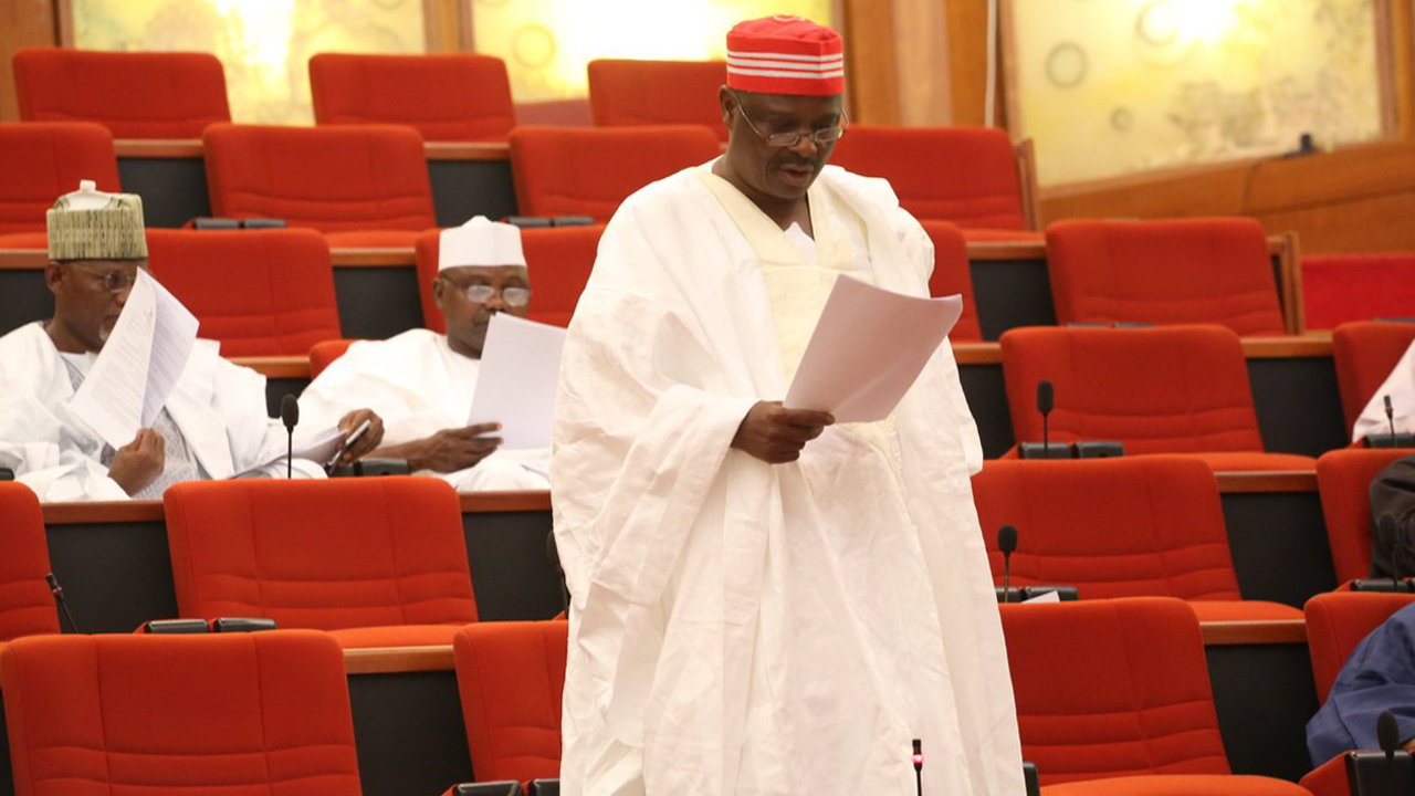 Ndume returns to Senate, says he is a son of nobody who became somebody