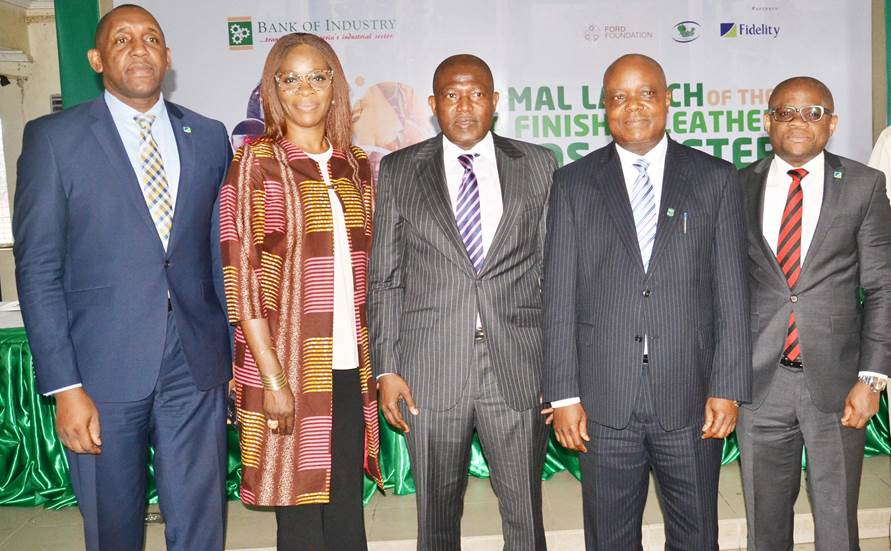 Fidelity Bank, BoI, Ford Foundation unveil lending scheme for Aba leather manufacturers