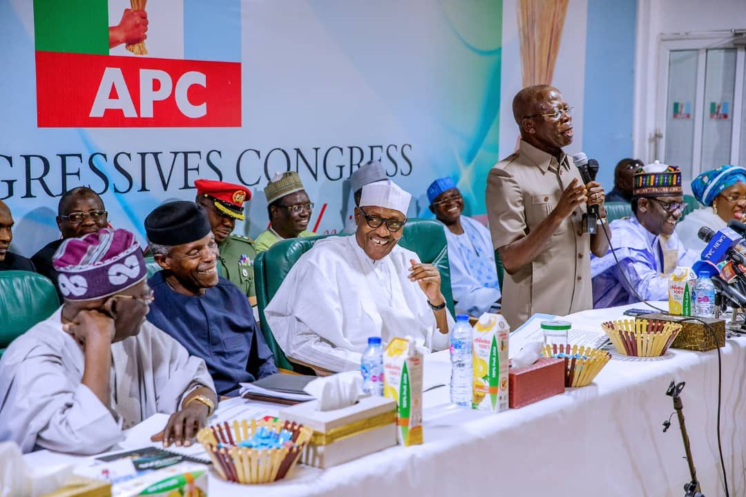 Go now, you lack capacity, composure to lead our party, APC Deputy Chairman tells Oshiomhole