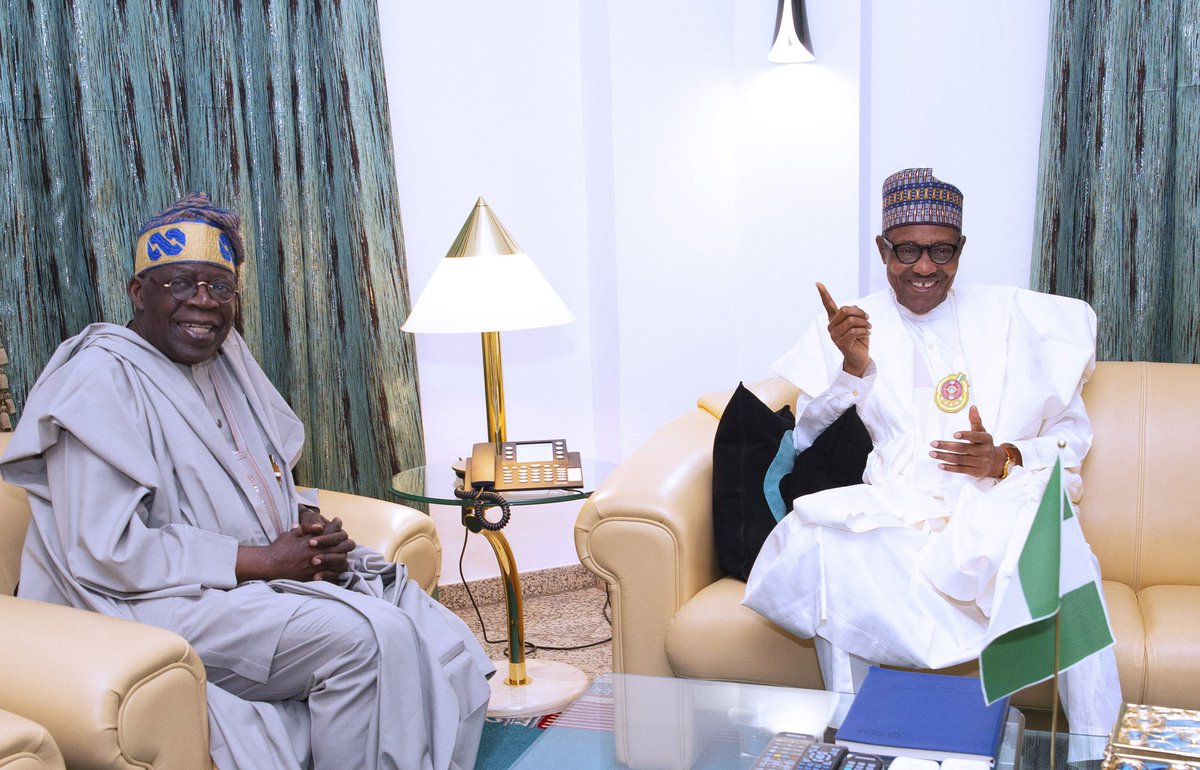 Buhari will never be tempted to go for third term, says Tinubu