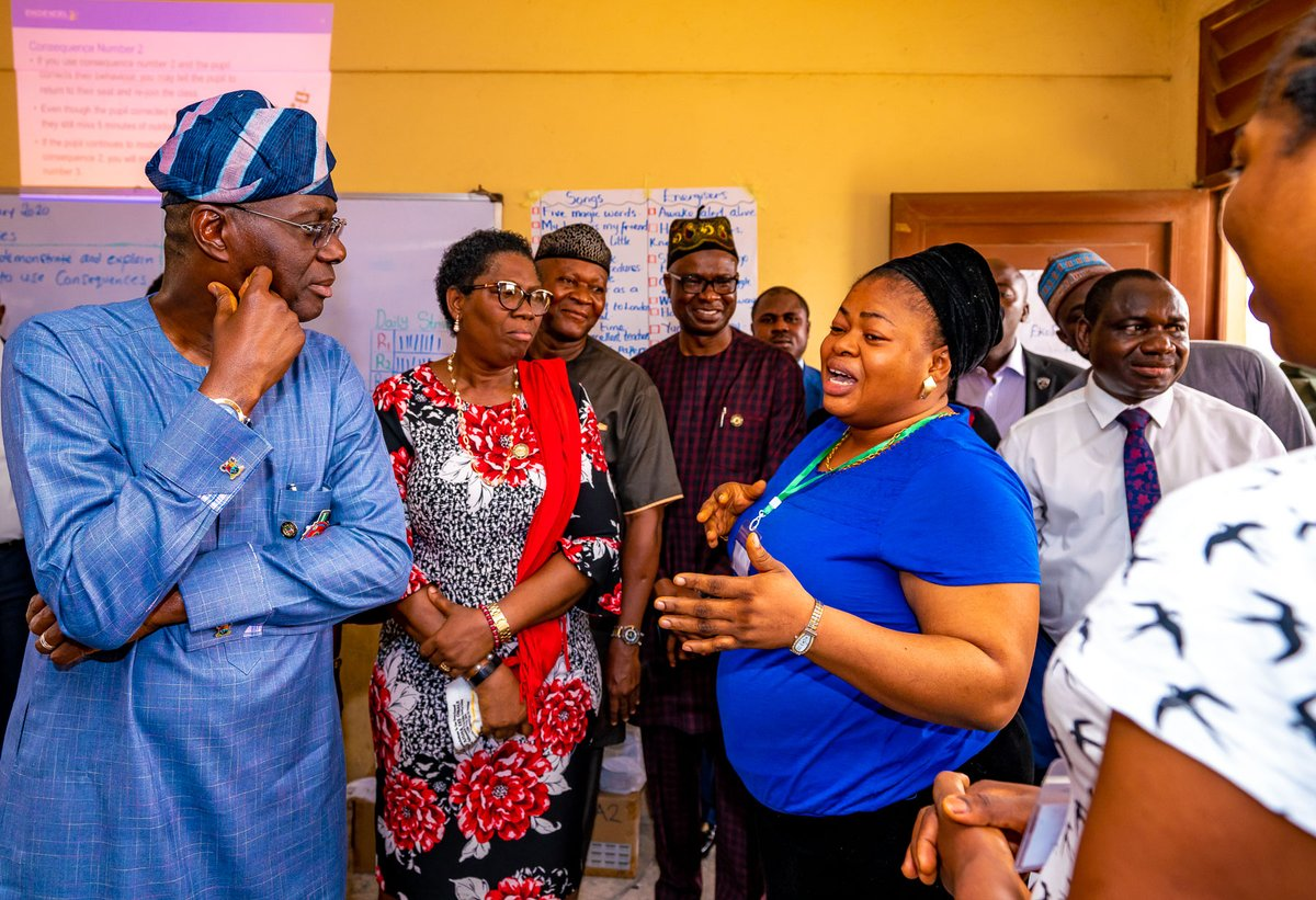 Be serious, love your pupils, Sanwo-Olu charges Lagos teachers