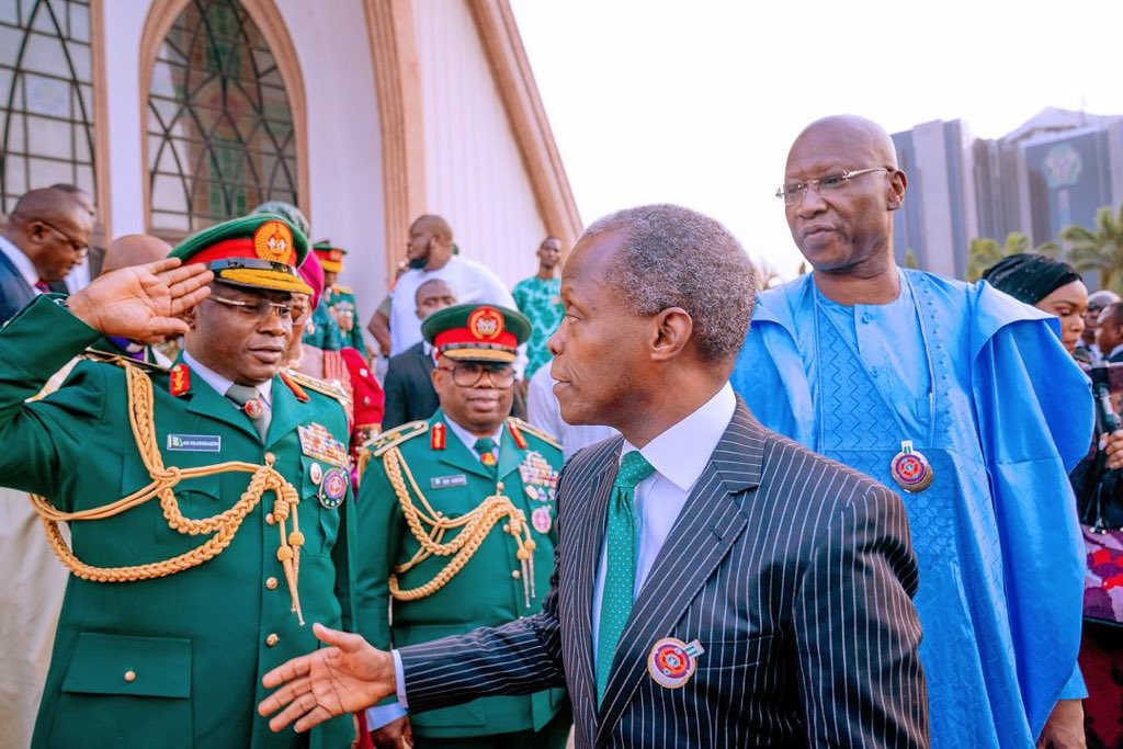 We will better the lives of our Armed Forces and families of fallen heroes - Osinbajo