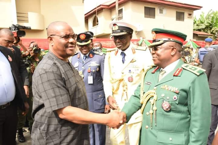Be professional, reward system to encourage Soldiers, Wike tells Military