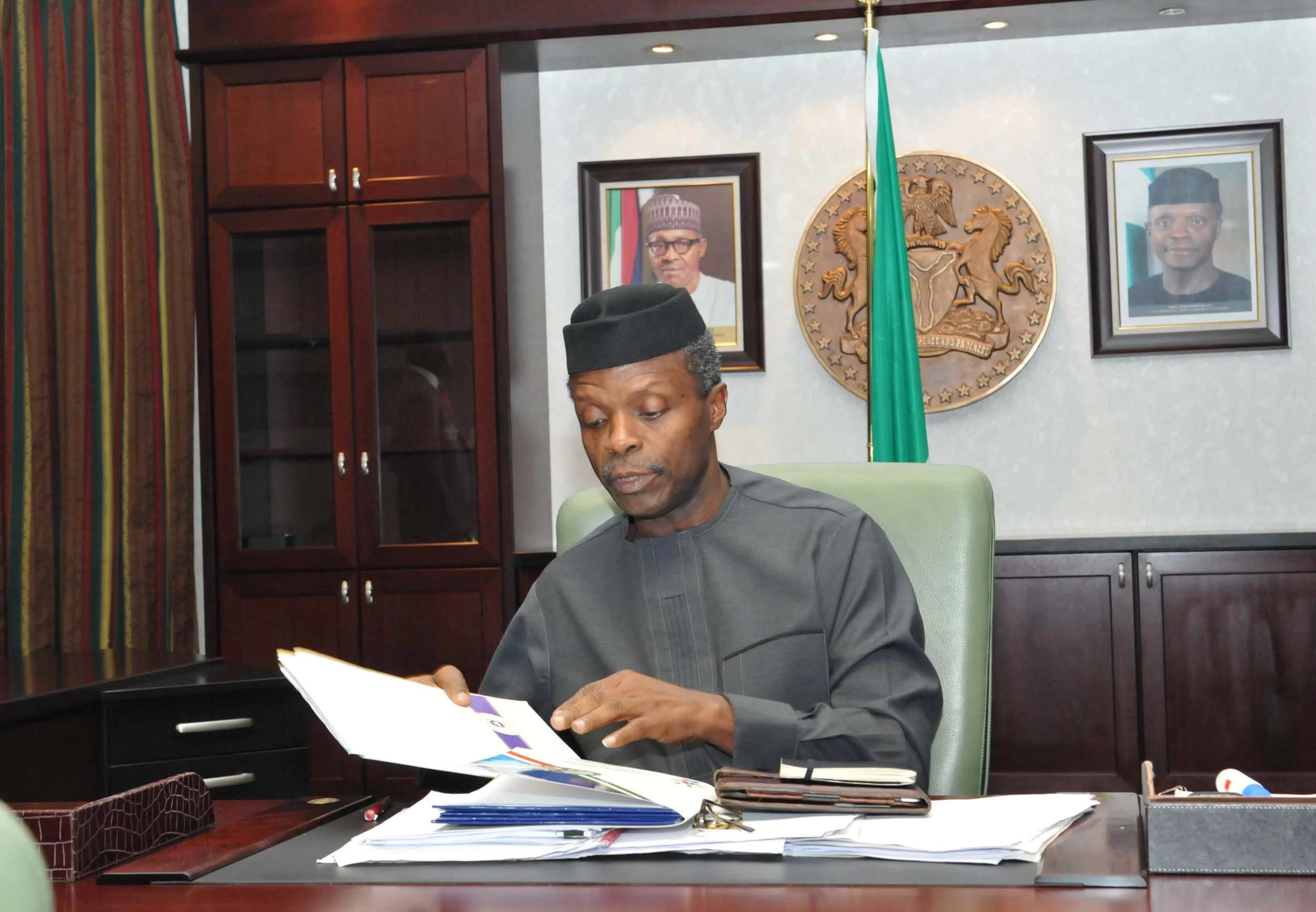 Osinbajo to sign 2017 Budget on Thursday