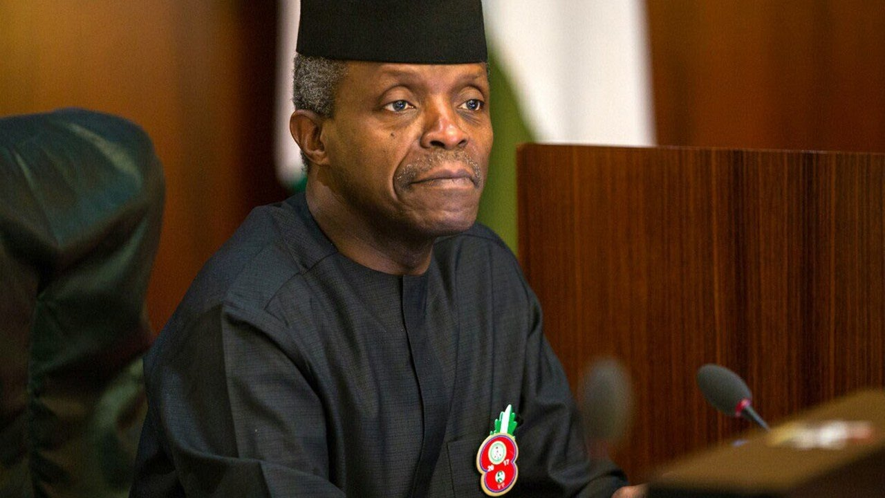 God did not make a mistake in putting Nigeria together, says Osinbajo