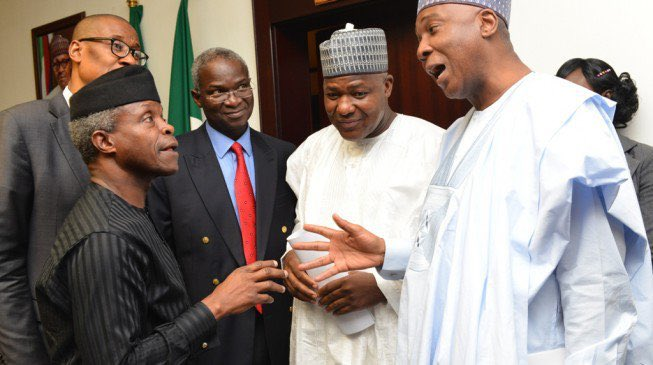 We appreciate your powers, we will not fight you, Osinbajo tells Lawmakers