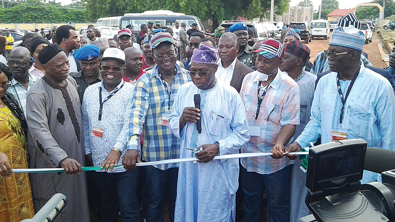 Ortom is doing well and needs more time to consolidate his achievements - Obasanjo