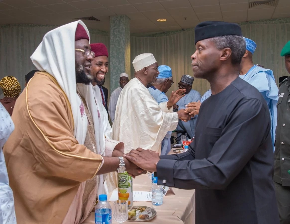 We will meet you with force, Osinbajo warns promoters of hate speeches