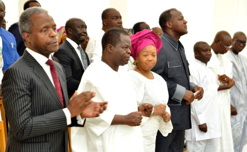 Osinbajo to churches: Talk more about honesty, stop honouring thieves