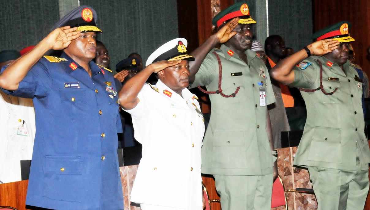 Extension of officers' service: Service