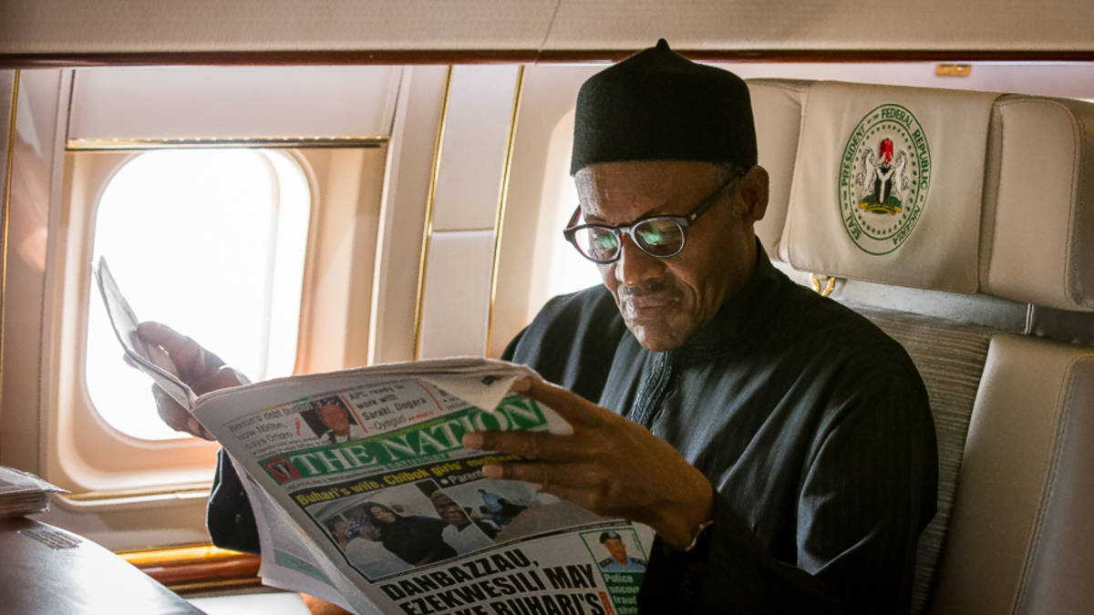Buhari is not the first to have Presidential aircraft standing by for him - Presidency