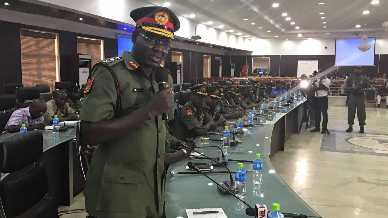 Army has contributed immensely to Nigeria's democracy, says Buratai