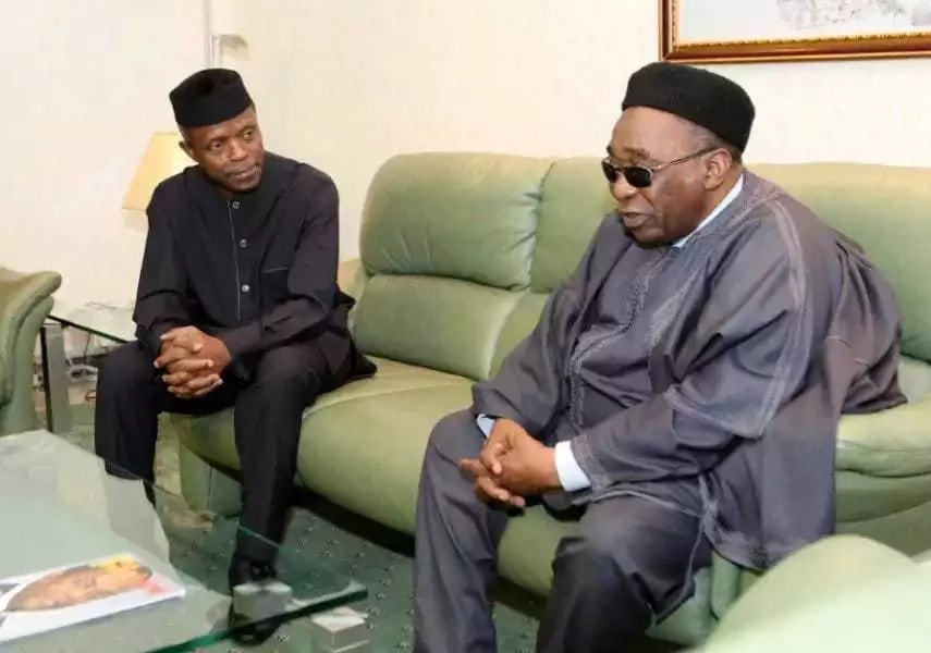 Sule reached out to us in his quest for unity, tolerance and national cohesion - Osinbajo