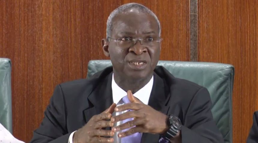 Fashola should come and throw more light on the veracity of his claims - Reps