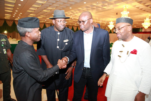Fayose to Osinbajo: You must prove to Nigerians that 'Buhari is in high spirit'