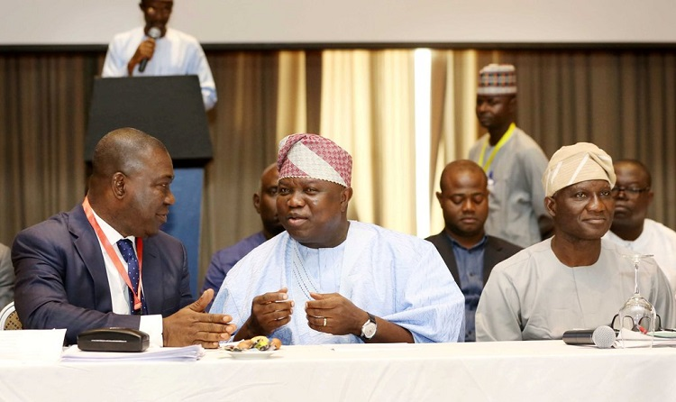 Identify stumbling blocks in the 1999 Constitution, Ambode tells National Assembly
