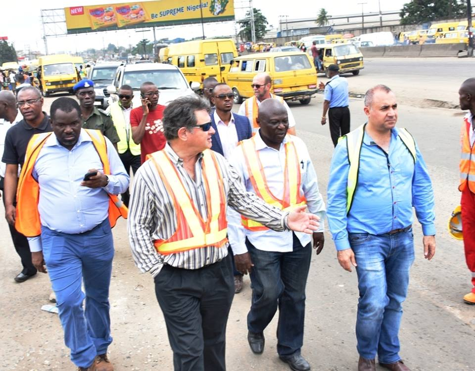 Lagos flags off reconstruction of Airport Road, says project will make life easier