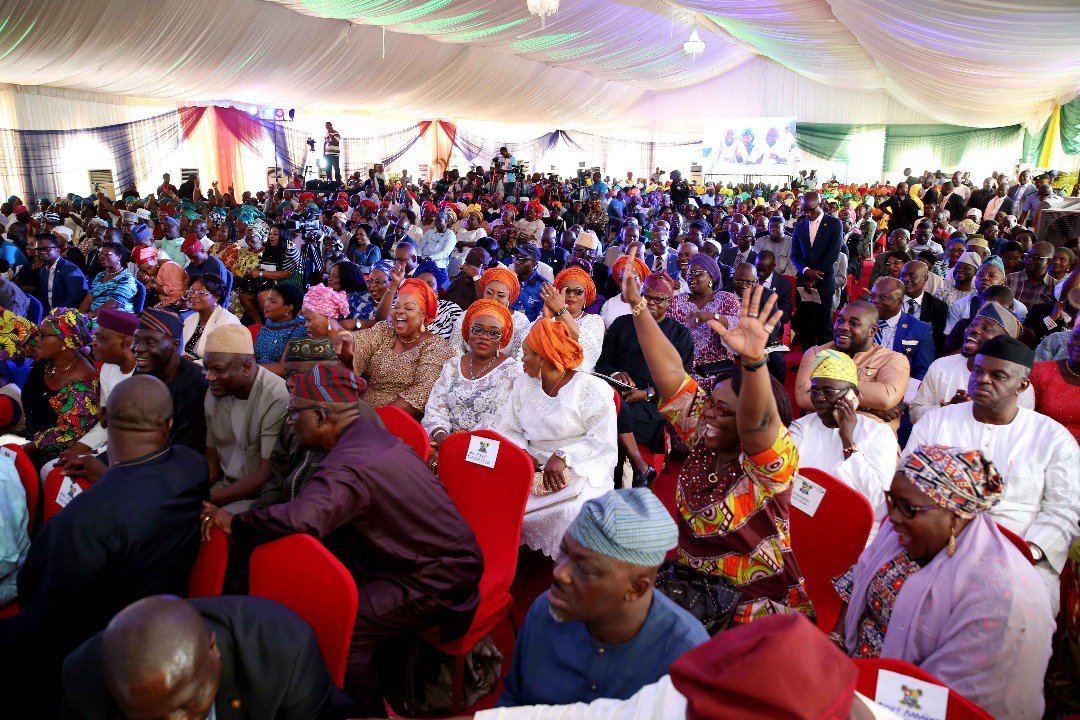 Fighting crimes requires collective efforts, Ambode tells residents in Kosofe
