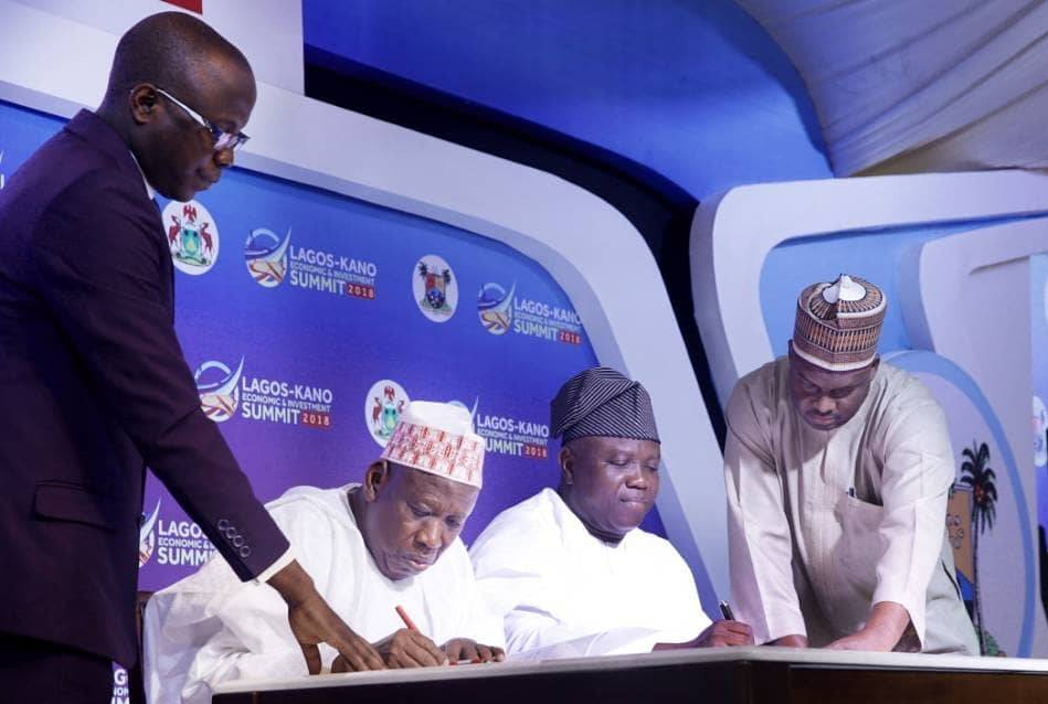 Lagos, Kano seal MoU on economic development