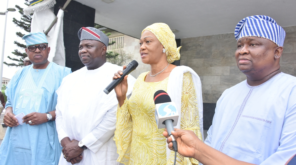 Lagos Senators endorse Ambode for second term, say 'we're proud of him'