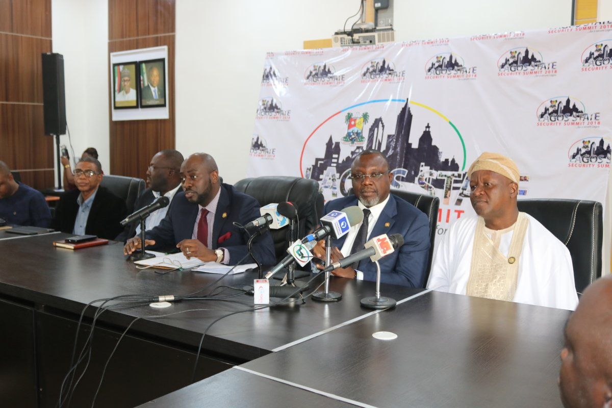 Lagos prepares for security summit, intensifies efforts to make state secured
