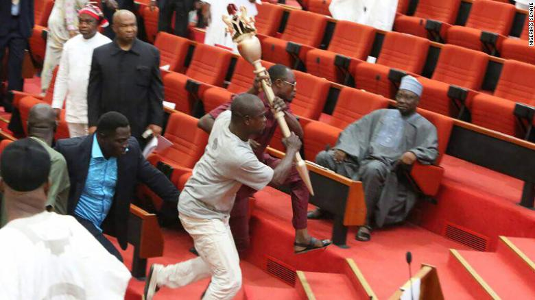 Attack on Senate: FG orders probe, expresses shock at breach of security