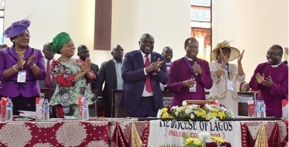 Bishop to Ambode: Your second term a done deal, not negotiable, not debatable