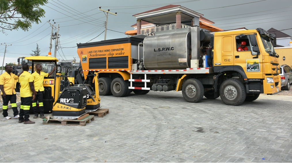 Lagos unveils 45 new road construction equipment