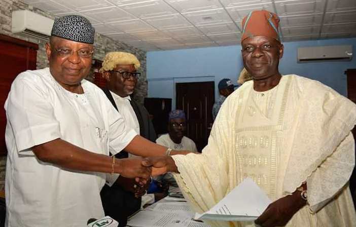 Ajomale bows out as Lagos APC Chairman, says winning against Obasanjo biggest achievement