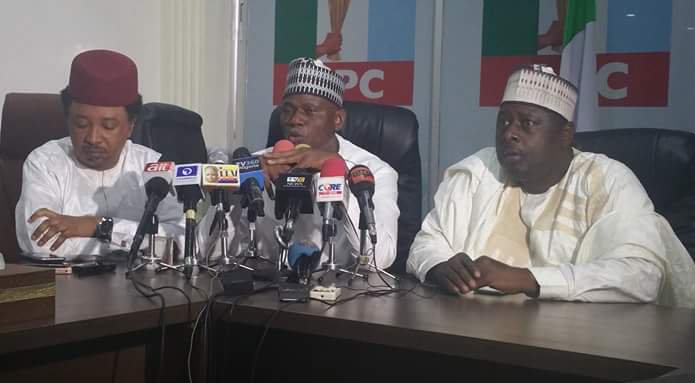 <p>The Suleiman Hunkuyi-led &nbsp;faction of the All Progressives Congress, APC, in Kaduna stat