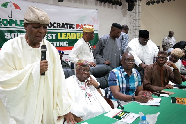 Babatope: I did not expect Omisore to leave PDP no matter his misgivings