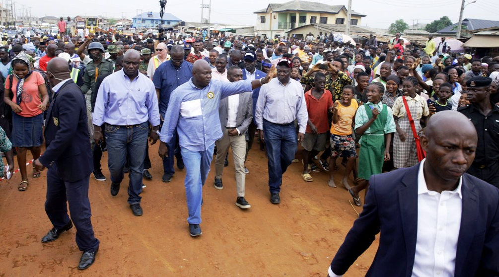 Ambode inspects ongoing reconstruction of Agric-Ishawo Road in Ikorodu