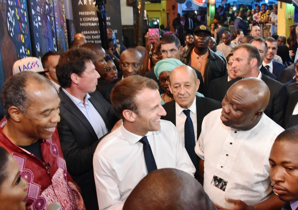 Afrika Shrine represents culture, strength, music of the continent, says French President