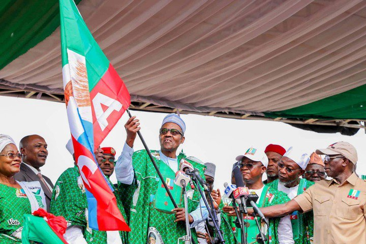 We are winning the election on Saturday, we shall sing song of victory, says APC as Buhari, others storm Osun for Oyetola