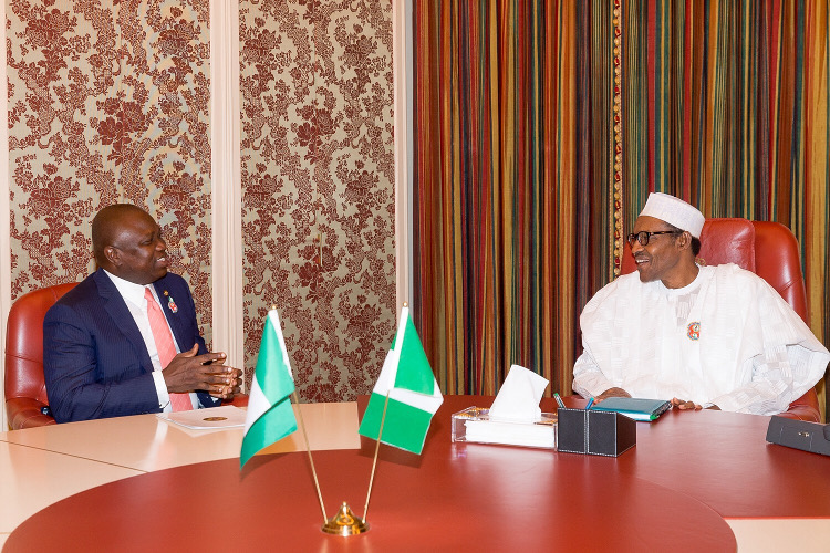 2019: Ambode meets Buhari in last minute effort to secure second term