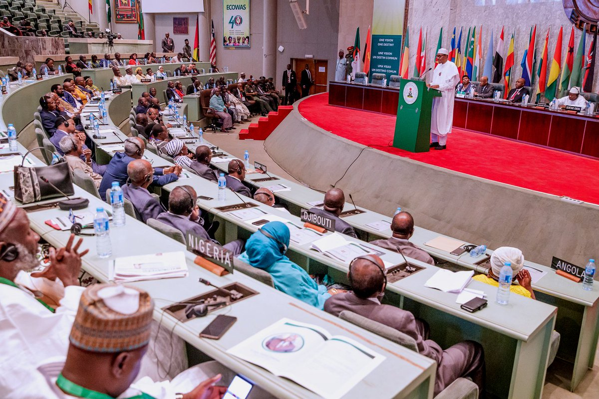Well done for promoting democracy, human rights, Buhari tells African Parliamentarians