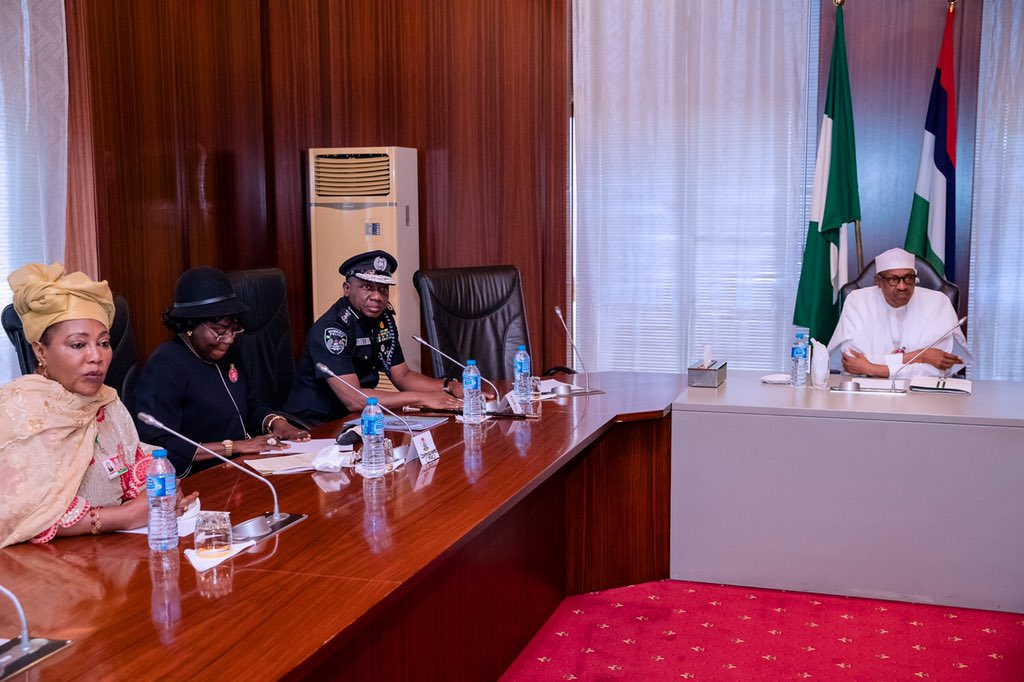 Buhari approves salary increase for Nigeria Police