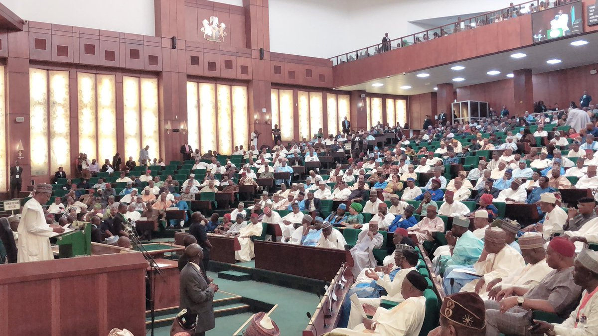 Buhari unveils 2019 Budget of N8.83 trillion before National Assembly