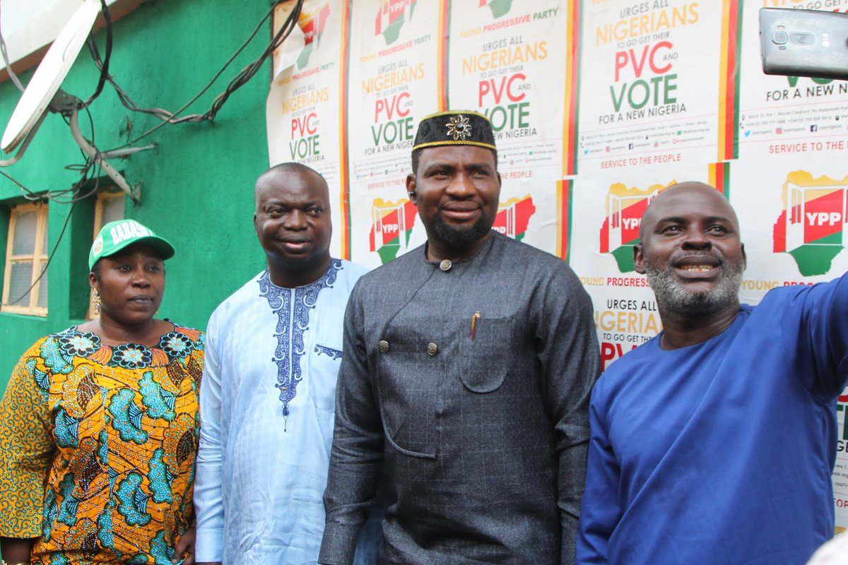 We are the party to beat in 2019, Nigerians are tired of recycling leaders who cannot solve their problems, says YPP